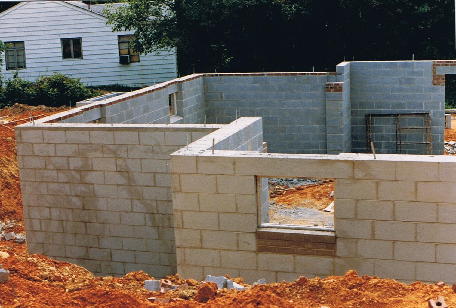 Walls Water Proofing.