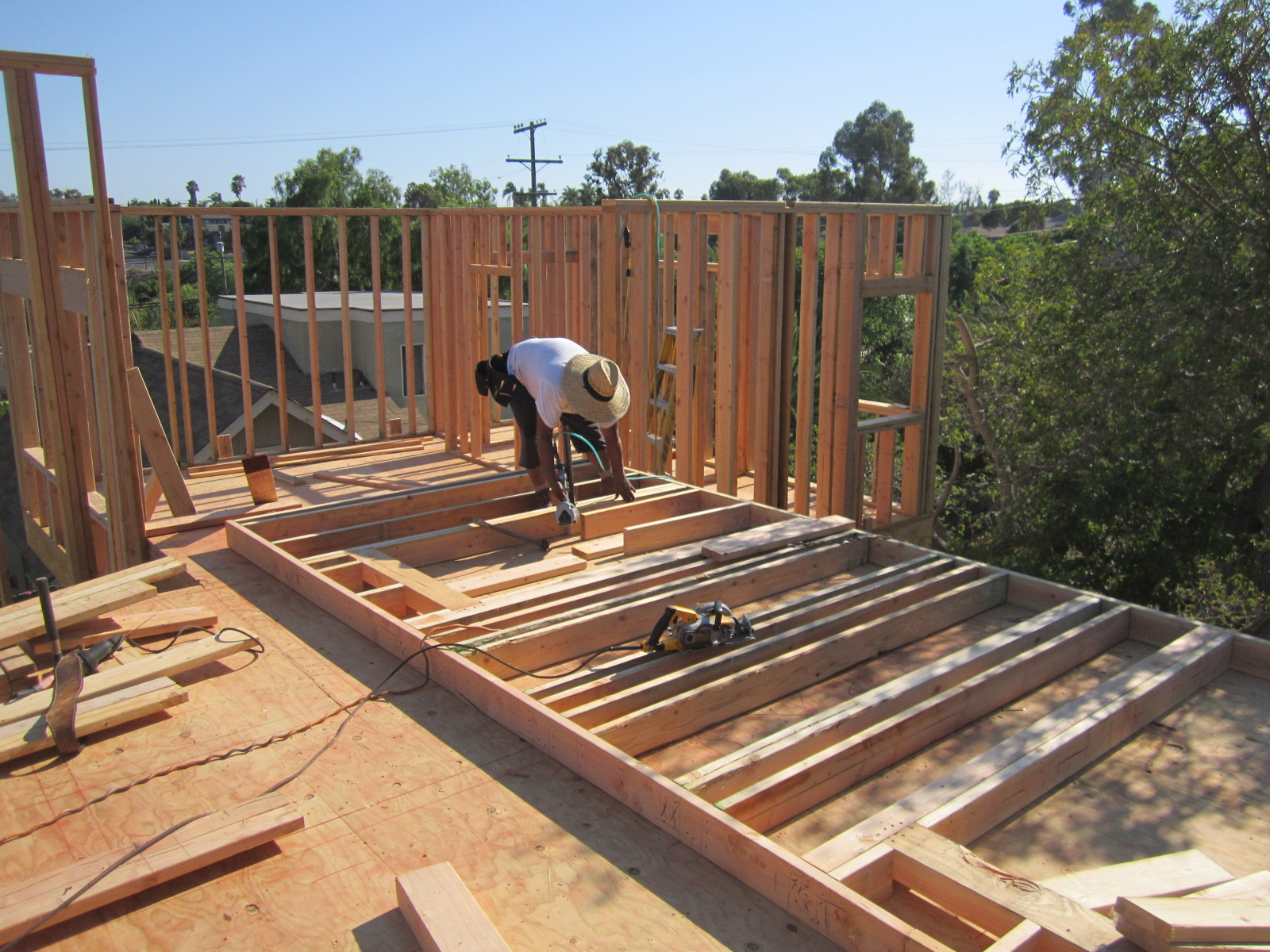Building a new home a step by step part ii infill sales for New house construction steps